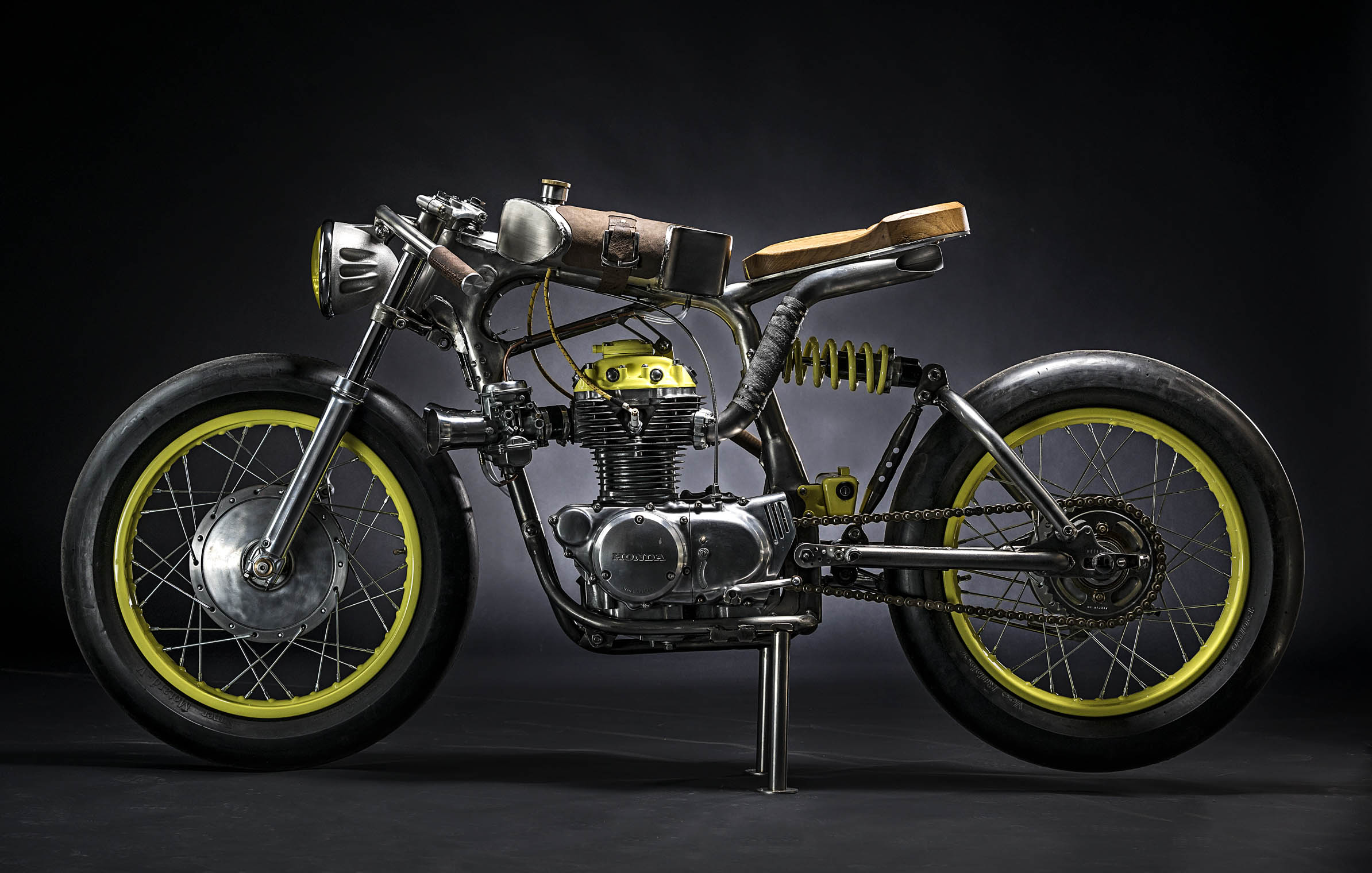 motorcycles_custom_honda_self_built_crazy_yellow_titan_black